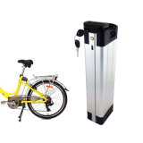 48V 13Ah bicicleta eléctrica recargable, Batería de litio de peces de plata