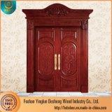 Entrée double Desheng Handmade Designer Les portes en bois