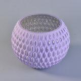 Dekorativer Glaskerze-Halter