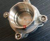 Ressort en acier inoxydable moulé de non retour 3PC de filetage du clapet antiretour