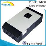 inverseur solaire hybride de 24V 2kwa 1600W avec le contrôleur solaire Mps-2kw de 50A MPPT