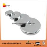 Forte POT del magnete del neodimio del metallo con il filetto M5/POT magnetico
