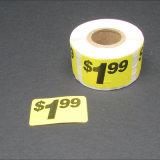 Venda superior pré preço impresso Rótulos Personalizados