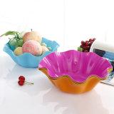 Stampaggio ad iniezione di plastica variopinto del piatto di frutta per vita quotidiana