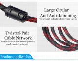 cabo 1.5m 3m de 1.4V HDMI 5m 10 de 15m 20m HDMI medidores de macho do cabo ao projetor do DLP do diodo emissor de luz da tevê LCD do adaptador masculino 1080P 3D HD