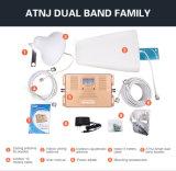 De volledige Intelligente Dubbele GSM WCDMA van het Signaal van de Band 900/2100MHz Mobiele HulpRepeater van het Signaal