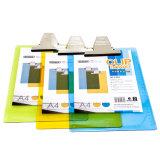 A4 Plastic Klembord met de Transparante Kleuren van de Klem van de Vlinder