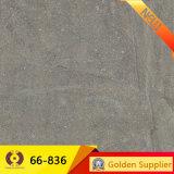 600*600mmの灰色の石の床タイルの無作法なタイル(66-835)