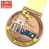 Оптовая торговля Custom металлический корпус штампов медь покрытие награда медаль