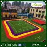Het kleurrijke Kunstmatige Gras van de Sport van de Renbaan