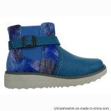 Мода красочные девочек каблуке лодыжки зимние ботинки