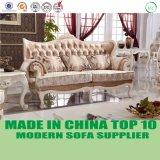 Luxuxwohnzimmer-Möbel-französisches Gewebe-Sofa-Set