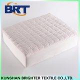 Cubierta de colchón impermeable del punto de la tela escocesa de la pongis roja del poliester