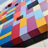 los paneles de pared exterior 1220X2440 con el buen material de construcción del ACP