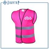 Quente-Vendendo a veste personalizada da segurança do logotipo da impressão reflexiva