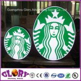 LED 커피 표시에 의하여 분명히되는 상점 Signage 광고