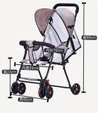 Fabrik-Verkaufs-Licht-Sommer-Art-Baby-Spaziergänger, der Soem-Spaziergänger faltet