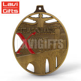 試供品のカスタム金属賞の記念品のスポーツのチャンピオンの円形浮彫り