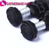 Extensões profundas do cabelo humano da onda 100% do cabelo cambojano de Remy