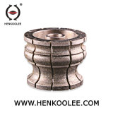 Bullnose мраморный абразивный диск диаманта колеса профиля края для камня