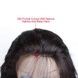 Wholesale Stirnbein gut 360 mit dem Baby-Haar-Brasilianer-Menschenhaar
