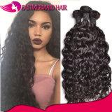 Onda Curly cambojana do cabelo humano de preço de grosso