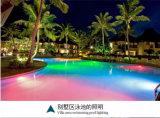 9W luz subacuática de LED para iluminación de piscina al aire libre