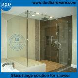 La quincaillerie des portes de douche en verre pour salle de bains de charnière de porte