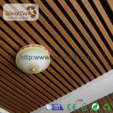 Techo nuevamente material de WPC para el perfil del proyecto del hotel