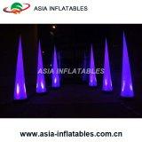 Voyant de changement de couleur de la tour d'éclairage gonflable, Belle gonflable cône d'éclairage à LED