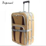 Più nuovo insieme di viaggio della valigia di acquisto del sacchetto del carrello dei bagagli del tessuto