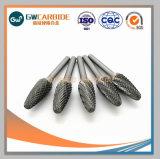 Rebaba rotativa de carburo de tungsteno para la trituración, molienda