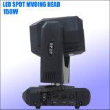 Cabezal movible LED 150W de iluminación de escena de gobos Spot