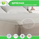 Profundo suave hipoalérgico de colchón de la pista del protector de la base de la cubierta impermeable de los primeros