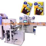 Machines d'empaquetage automatiques de serviette de découpage