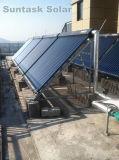 Progetto solare del riscaldamento ad acqua calda di Suntask