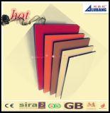 Panneau composé de feuille en aluminium de la Chine pour le revêtement