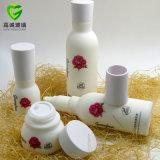 Luxuxlotion-Flasche und Glas-Kosmetik-Flasche