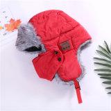 冬はのどの毛皮音楽兵士の男女兼用の無線ハンズフリーのヘッドセットのスピーカーのスキー雪の帽子を厚くする