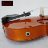 Orange brillant avec Triangel violon Violon électrique CAS