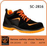 Saicou 안전 단화 En345 편리한 작동 시동 구두 공장 광저우 Sc 2816