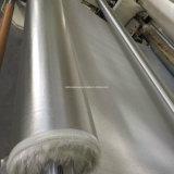 Jasje het op hoge temperatuur van de Stof van de Glasvezel met Aluminiumfolie