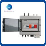 Carcasa de plástico ABS de 2 Cadenas DC protección contra relámpagos caja combinadora