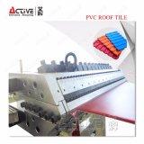 PVC 플라스틱에 의하여 윤이 나는 도와 생산 라인 기계