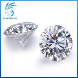 3ex 둥근 화려한 H&a는 18K 금 보석을%s 10의 캐럿 Moissanite 다이아몬드를 잘랐다