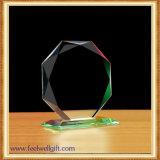 Trofeo y venta al por mayor cristalinos en blanco