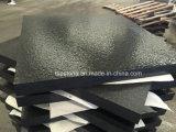 Cinzento/preto/vermelho/cor amarela em granito Ambiental Lancis/Mesa/Pavimento/metro cúbico/Pedra de calçada/Espalhadoras Stone/Lancis para caminho de projeto de construção