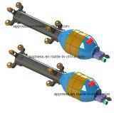 Зажимное приспособление трубопровода малого диаметра внутренне: Поворачивая радиус 1.5D