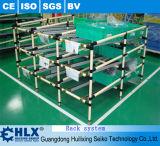 Aménagement d'approvisionnement de Hlx fait avec la pipe de PE