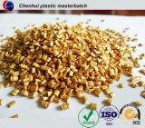 Colore dorato Masterbatch per tutti i prodotti di plastica